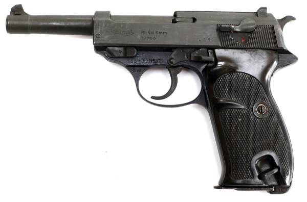 Walther P1 9mm pistole